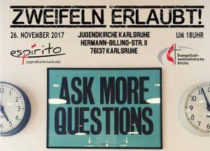JuGo - Zweifeln Erlaubt! @ Karlsruhe | Baden-Württemberg | Deutschland